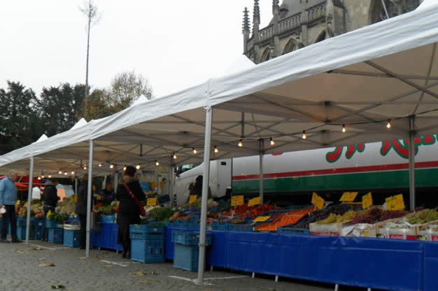 Weekmarkt in Meerssen