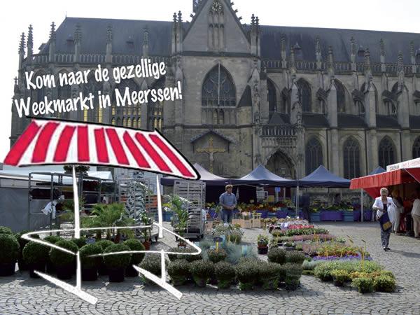 Weekmarkt Meerssen